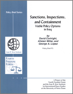 Sanctions, Inspections and Containment