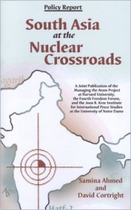 South Asia at the Nuclear Crossroads