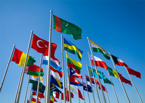 United Nation Flags