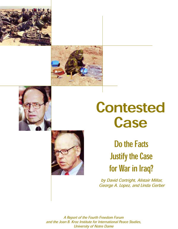 Do the Facts Justify the Case for War in Iraq